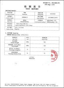 Сертификат на A193 B8M CL2