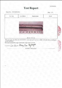 Сертификат на A453 660B 3