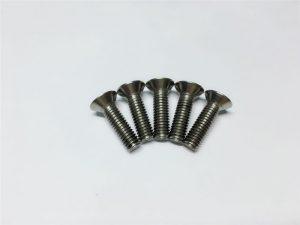 M3, M6 титановый винт с плоской головкой с цилиндрической головкой с цилиндрической головкой для хирургии позвоночника