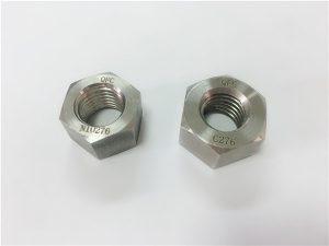 No.108-Производитель специальных сплавов крепежных деталей hastelloy C276 гайки