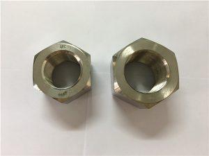 No.111-Производство никелевого сплава A453 660 1.4980 шестигранные гайки