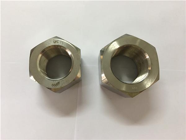 производство никелевого сплава a453 660 1.4980 шестигранные гайки