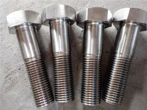 No.15-Nitronic 50 XM-19 Болт с шестигранной головкой DIN931 UNS S20910