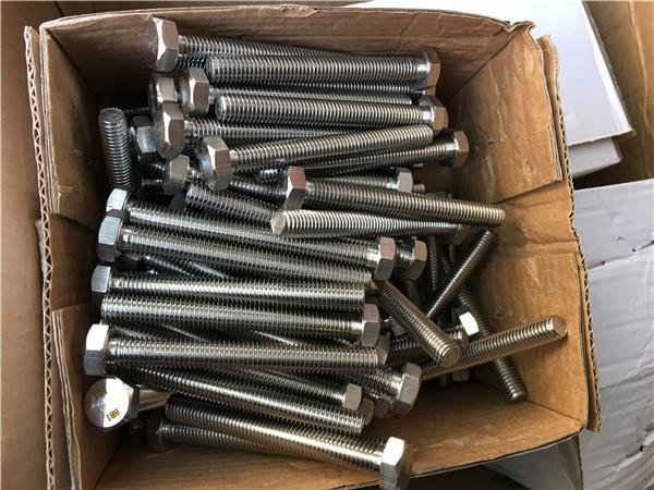 310s / 1.4845 специальный крепеж из нержавеющей стали с шестигранной гайкой под болт m24 * 80 мм