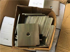 Крепеж шайбы из нержавеющей стали с квадратными пластинами из нержавеющей стали 2205 (F51)