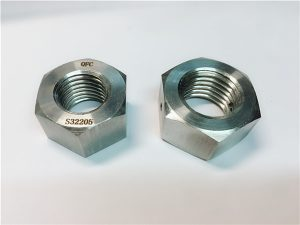 No.76 Дуплекс 2205 F53 1.4410 S32750 крепеж из нержавеющей стали тяжелая шестигранная гайка