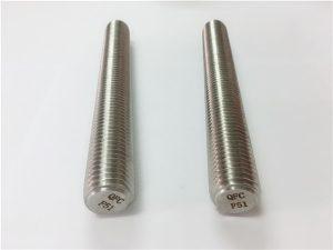 No.77 Дуплекс 2205 S32205 крепеж из нержавеющей стали DIN975 Резьбовые стержни DIN976 F51