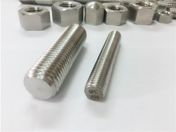 F55 / zeron100 крепеж из нержавеющей стали полнопроходной стержень s32760