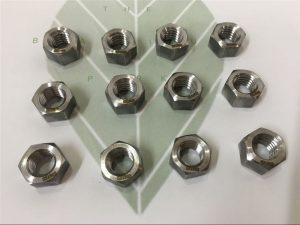 Дуплекс 2205 A182 F51 UNS S31803 EN1.4462 болт с шестигранной головкой DIN933 крепеж