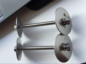 Шпилька SS310S, гайка с шайбой