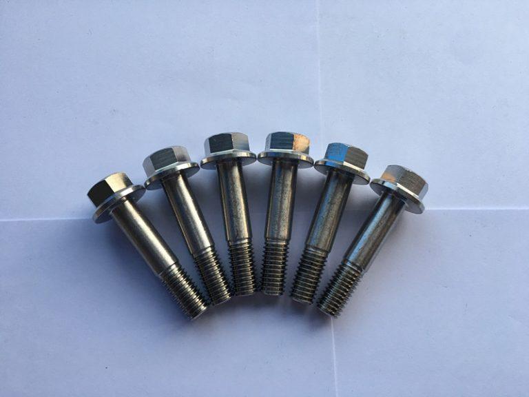 din 7504 sudin 7504 супер дуплекс F55 нержавеющая сталь с шестигранной головкой с фланцем