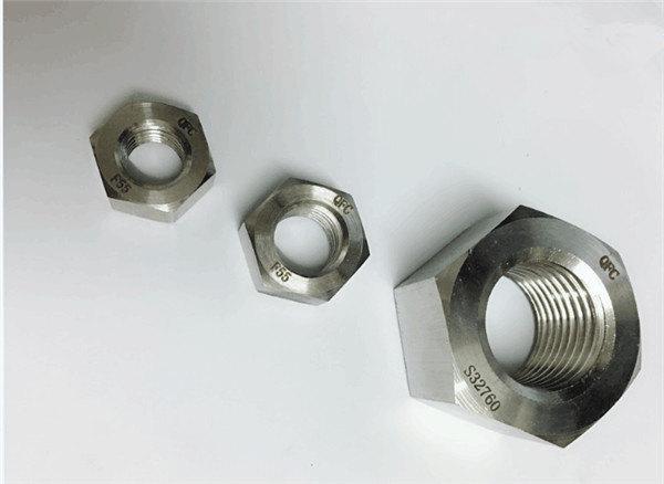дуплекс 2205 / f55 / 1.4501 / s32760 крепеж из нержавеющей стали тяжелая шестигранная гайка m20